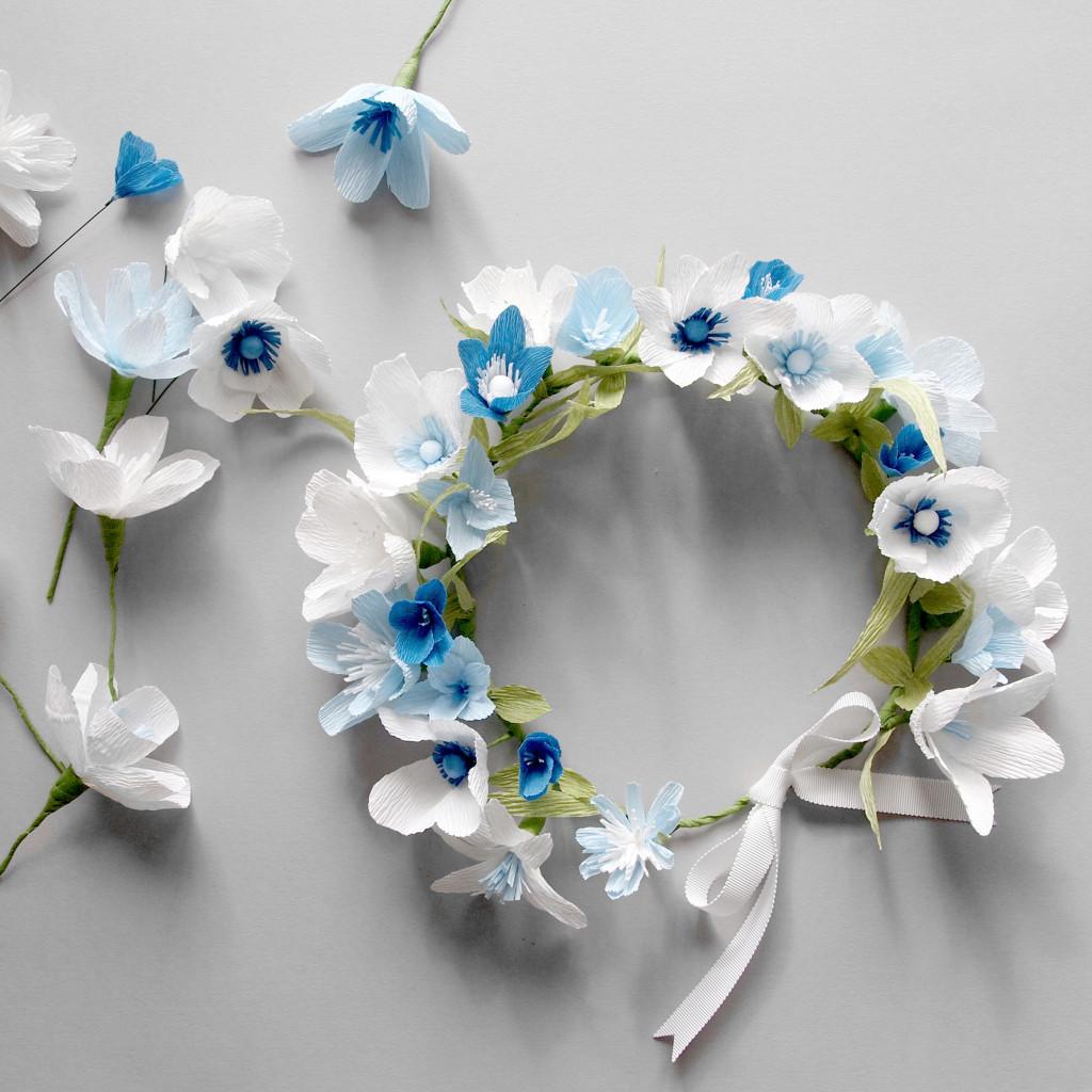 Paper Flower Crowns Ukrandiffusion
